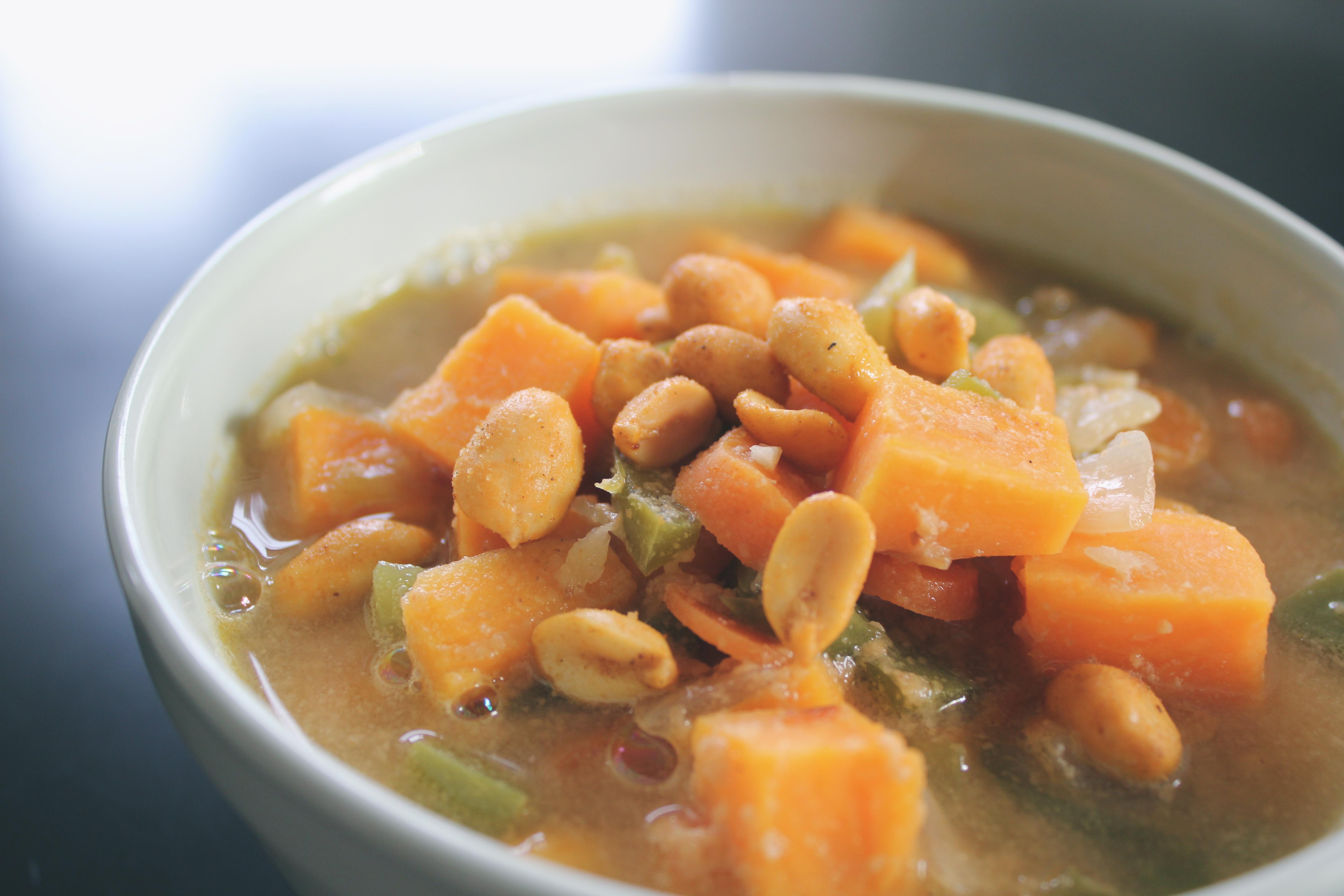 West African Peanut Soup Recipe — Dishmaps
